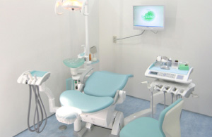 歯科医院の施術台